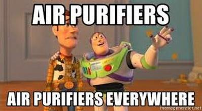 purificatoare de aer peste tot